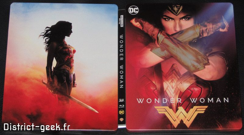 Edition Steelbook Fnac Wonder Woman