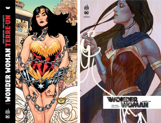 Wonder Woman Terre-Un & Wonder Woman Rebirth