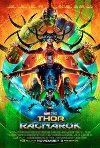 Affiche Thor Ragnarok