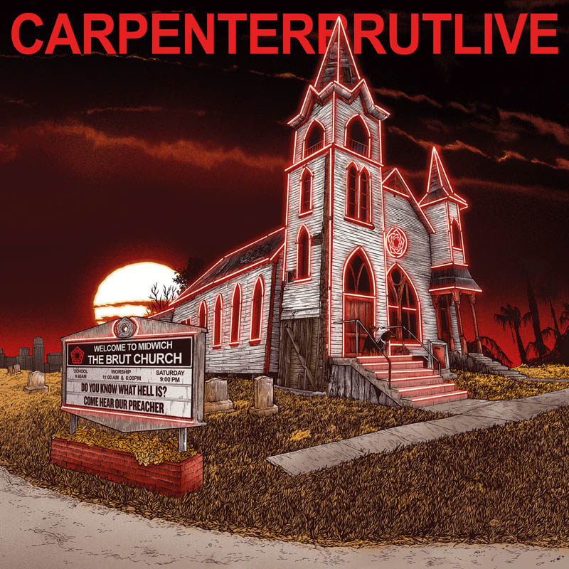 Cover Carpenter Brut LIVE