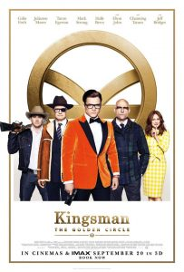Affiche Kingman - The Golden Circle