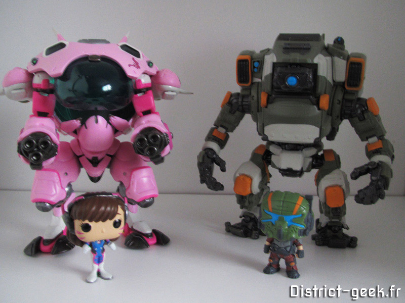 funko pop Overwatch & TitanFall 2