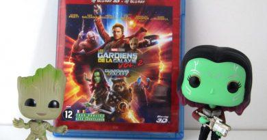 Coffret Prestige Les Gardiens de la Galaxie Vol. 2 - Blu ray - Groot - Gamora