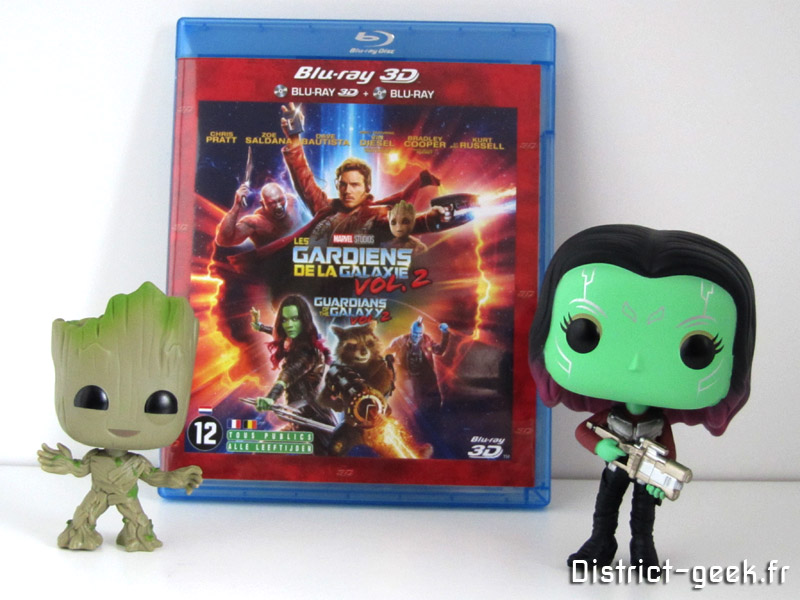 Les Gardiens de la Galaxie 2 + Toy Pop Baby Groot et Gamora