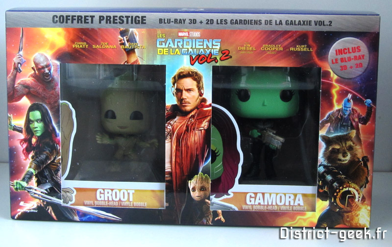 Coffret Deluxe Les Gardiens de la Galaxie 2