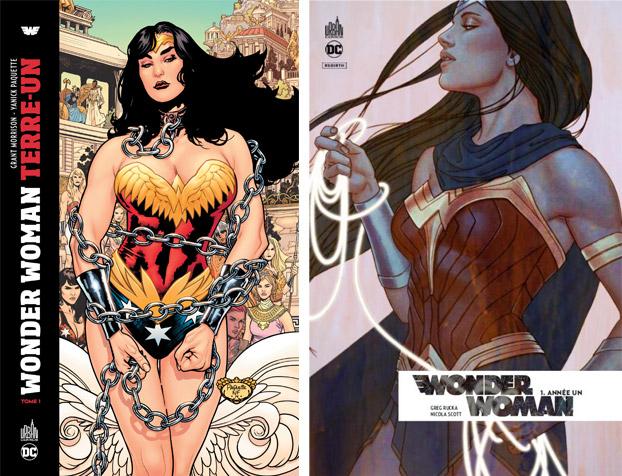 Wonder Woman Terre-Un & Wonder Woman Rebirth