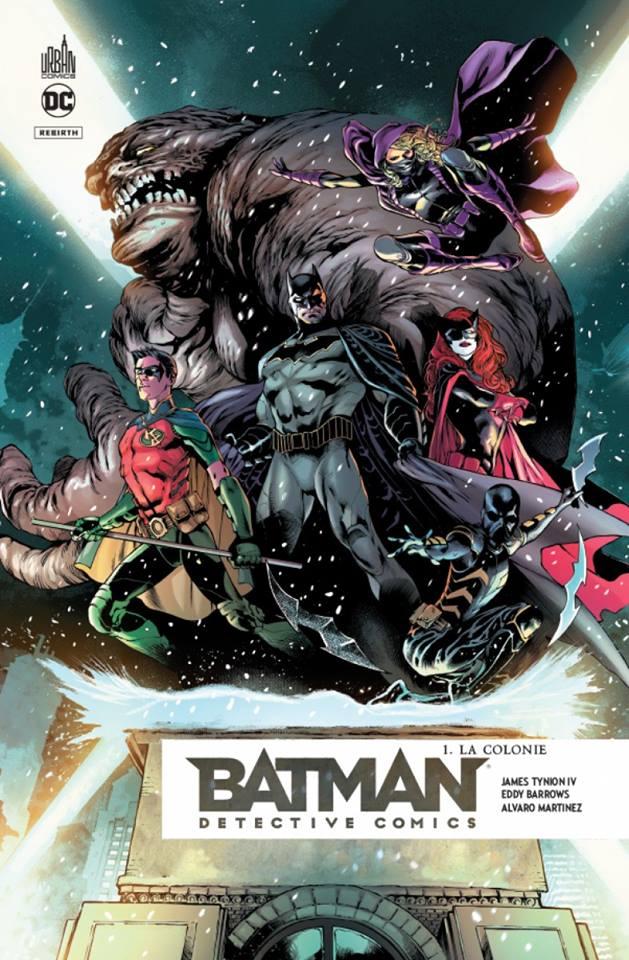 BATMAN, Detective Comics - tome 1