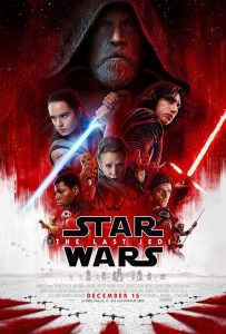 Affiche Star Wars The Last Jedi