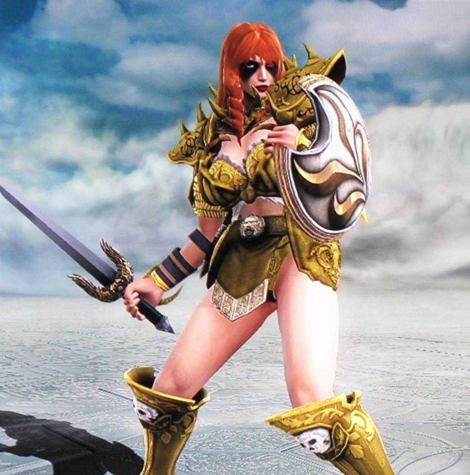 Création Soul Calibur V : Angela (Spawn / Thor)