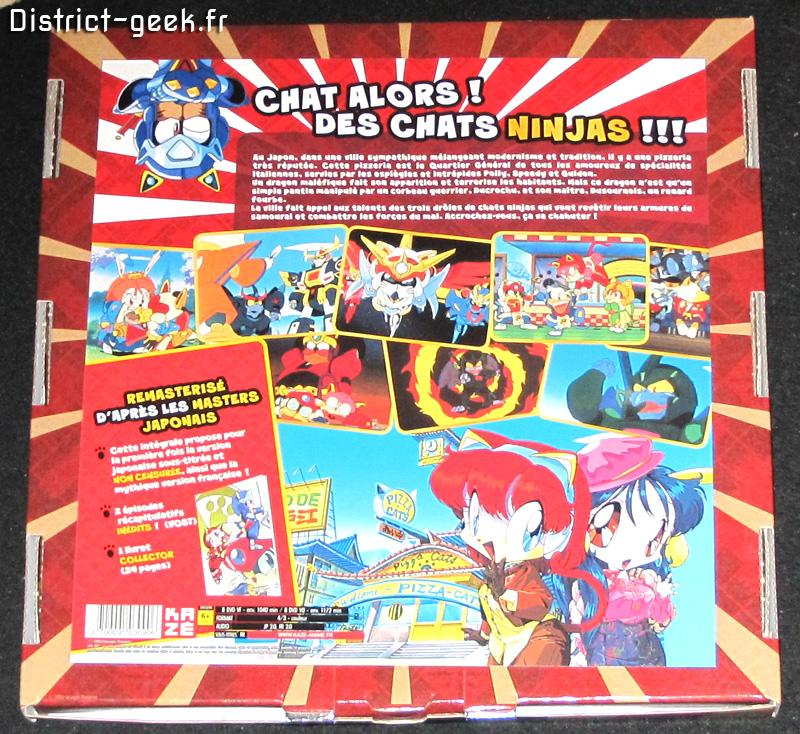 L'intégrale Samurai Pizza Cats - Edition Collector Limitée