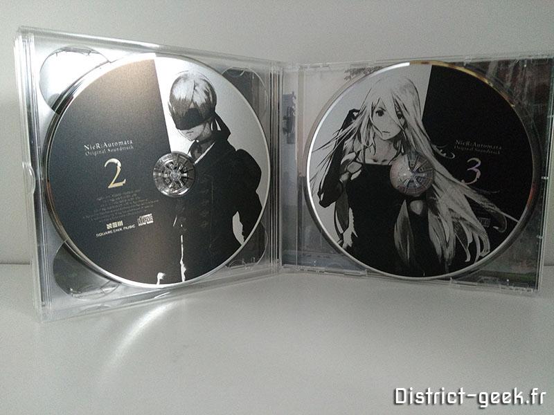 Nier Automata - cds 2 & 3