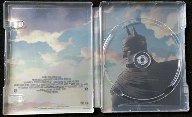 Batman Ninja - Steelbook - Visuel intérieur
