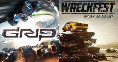 Grip & Wreckfest sur PS4