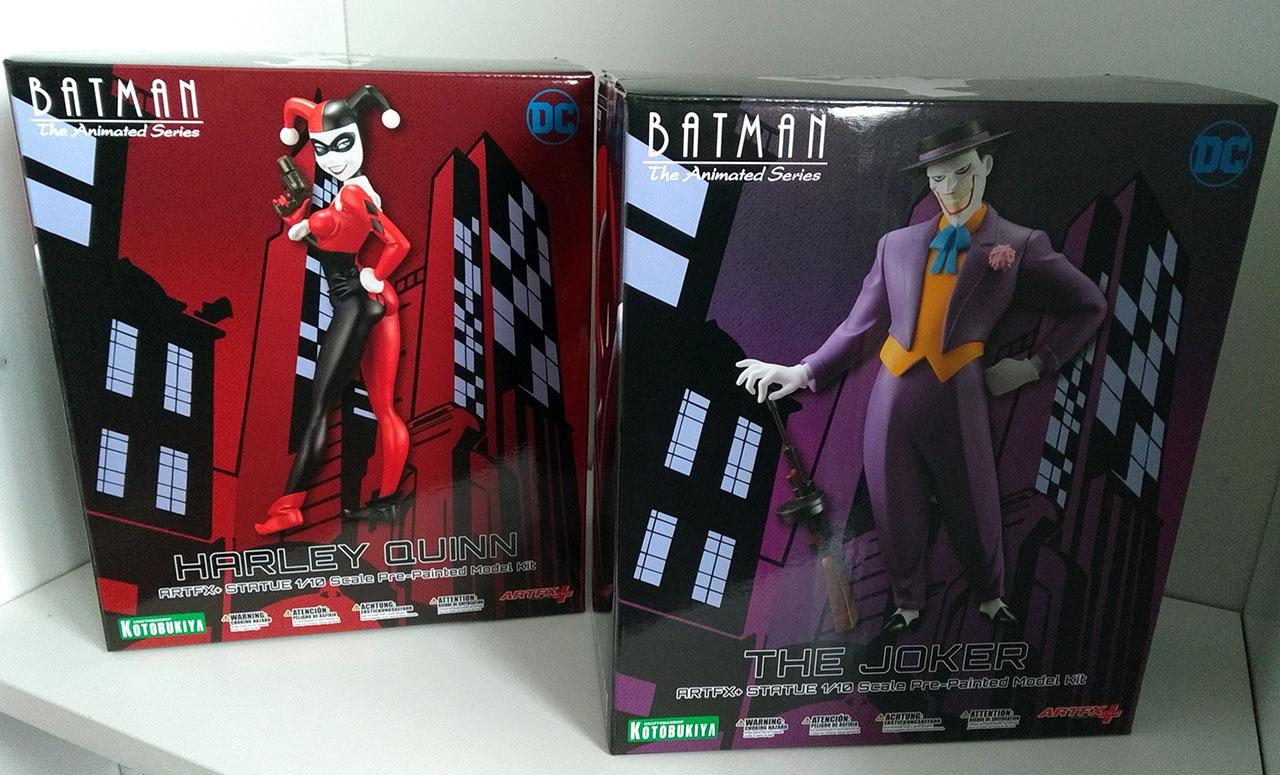 Boites The Joker & Harley Quinn - ARTFX+ - Kotobukiya