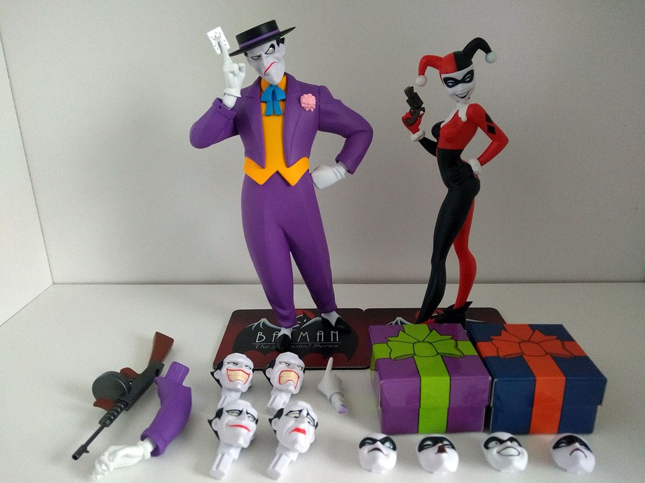 Tous les accessoires de The Joker & Harley Quinn - ARTFX+ - Kotobukiya