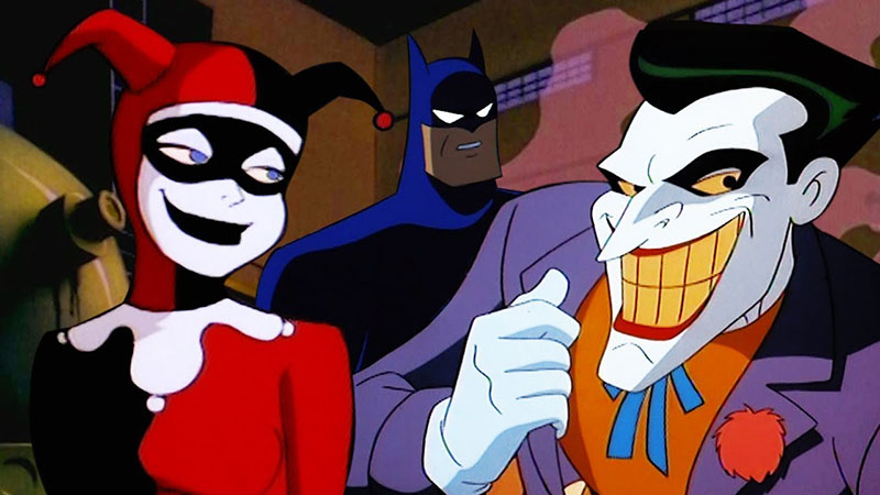 Batman The animated series - Harley Quinn et Le Joker