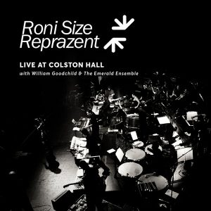 Roni Size Reprazent - live at Colston Hall - visuel CD