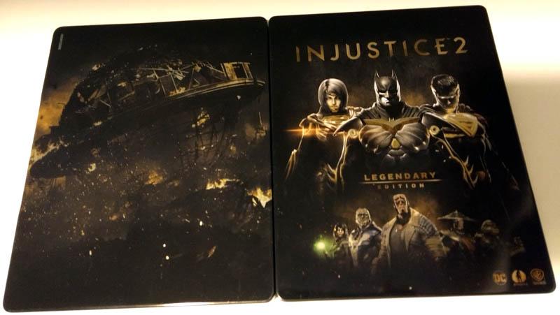 Steelbook Injustice 2 - Legendary Edition