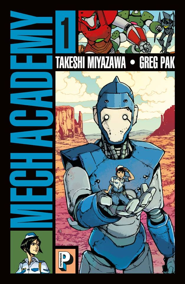 mech-academy - tome 1