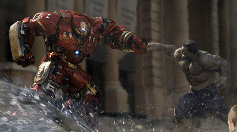 Avengers : l'ère d'Ultron - extrait scène Hulkbuster vs Hulk