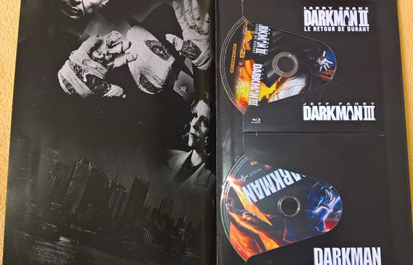 Darkman édition ultime - cover de fin