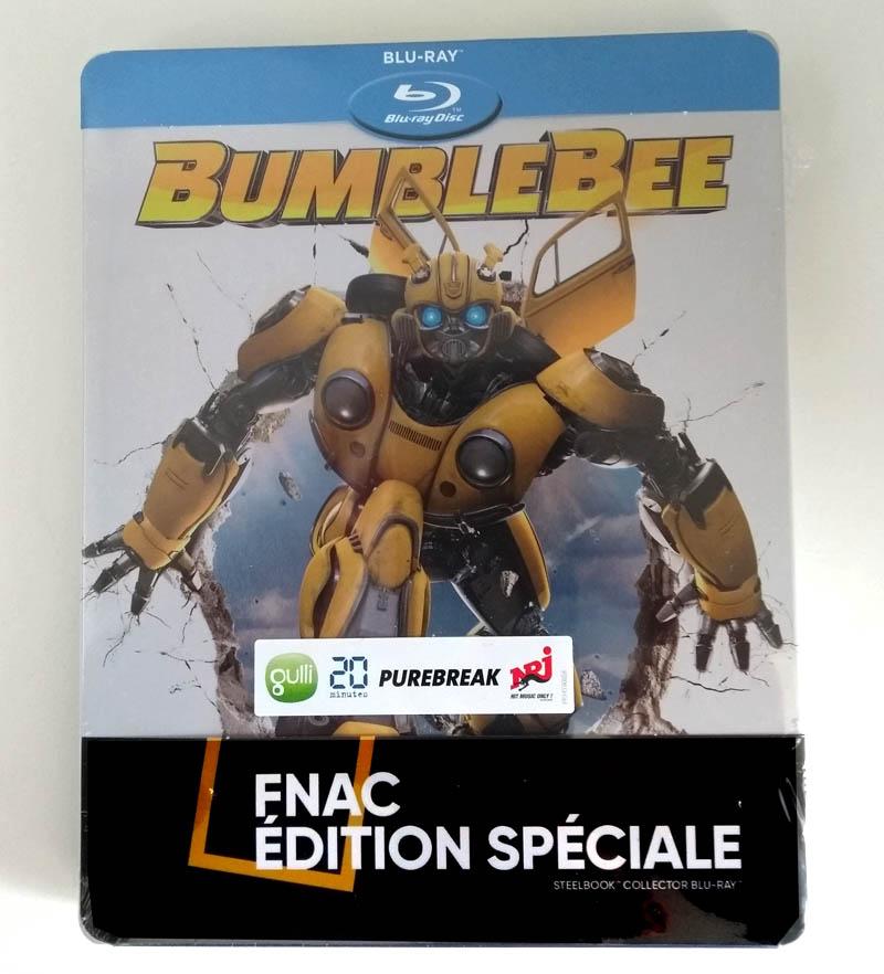 Bumblebee - steelbook Fnac - emballage recto
