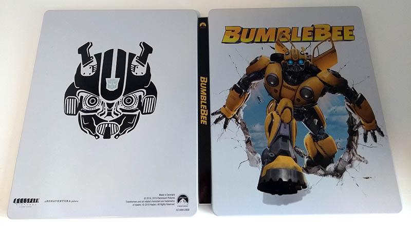 Bumblebee - steelbook Fnac - ouvert