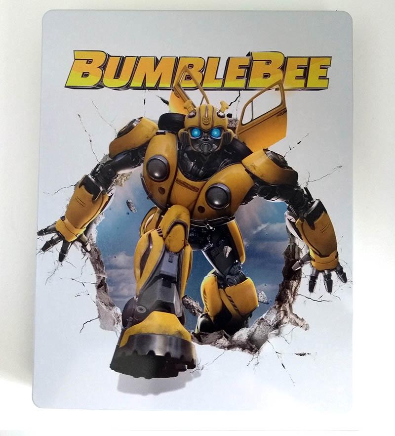 Bumblebee - steelbook Fnac - recto