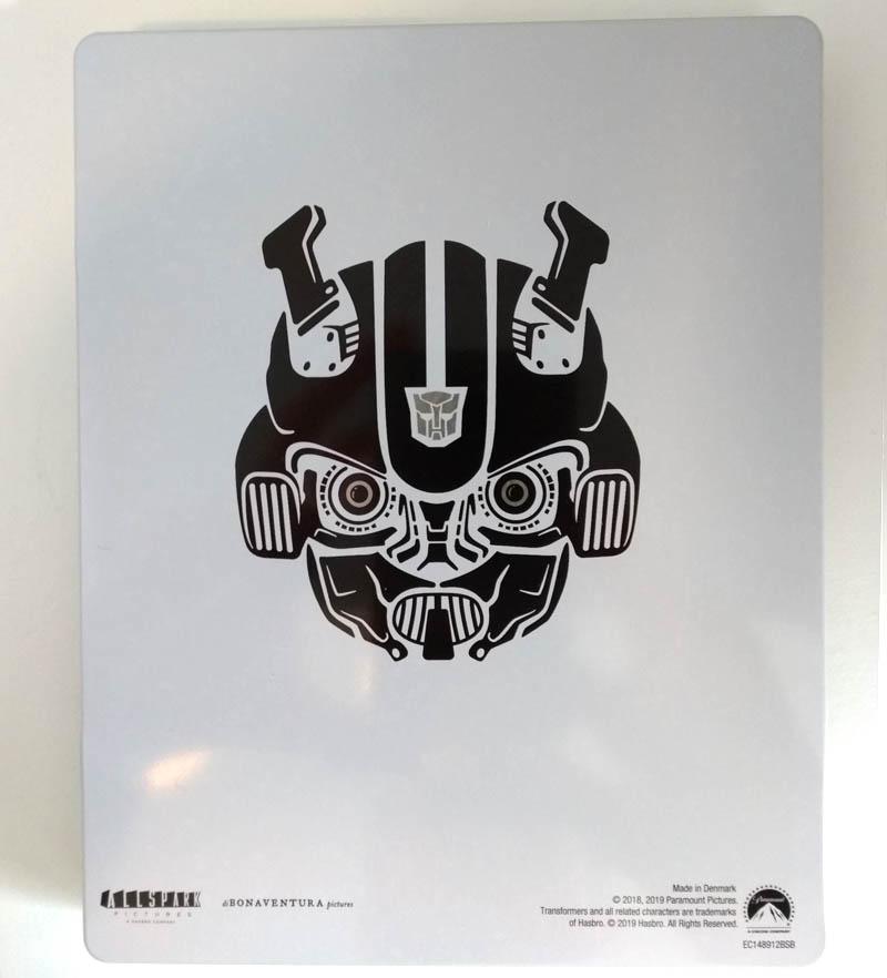 Bumblebee - steelbook Fnac - verso