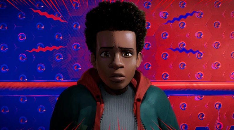 Visuel Spider-man : Into the Spider-verse - original score