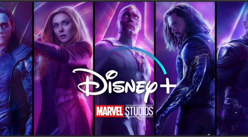 Bannière Disney + - Séries Marvel Studios