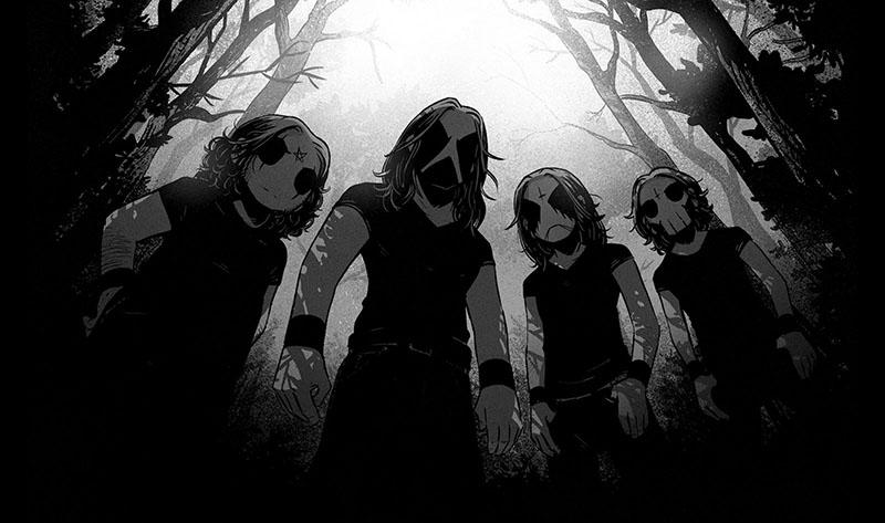 Membres du groupe Belzebubs © JP Ahonen