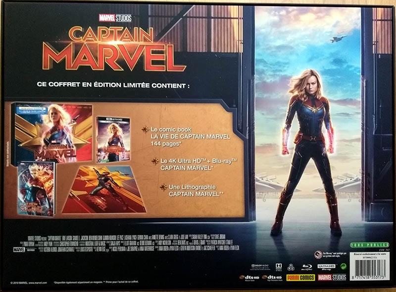 Captain Marvel - Edition spéciale E.Leclerc - vue verso