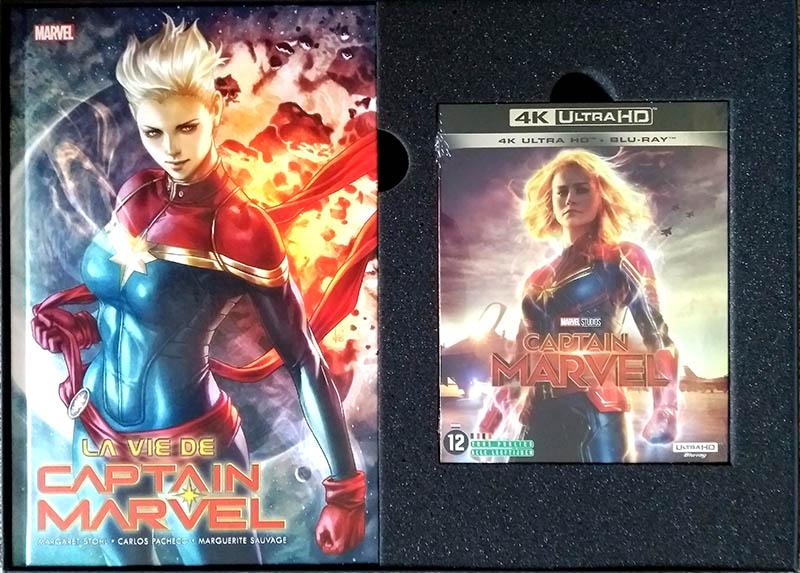 Contenu de Captain Marvel - Edition spéciale E.Leclerc