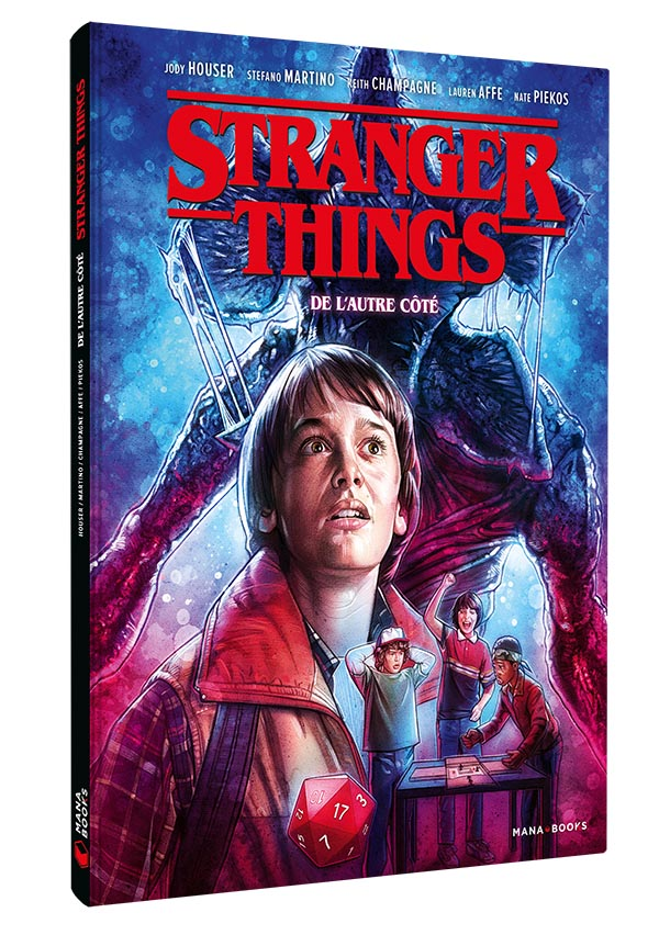 Comic book Stranger Things