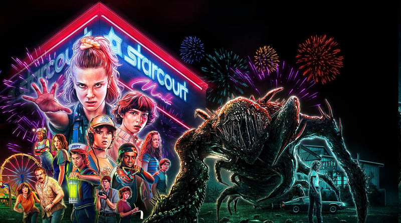 Affiche Stranger Things - saison 3