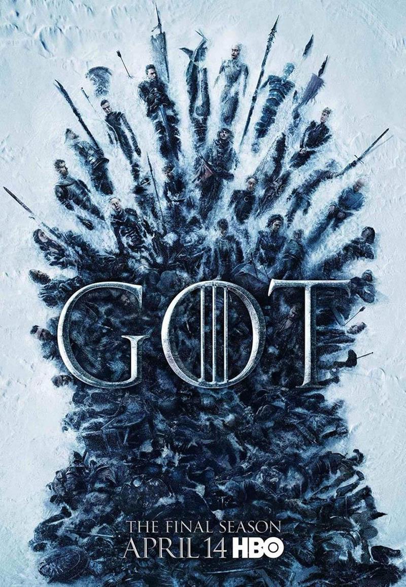 Affiche Game OF Thrones - Saison 8