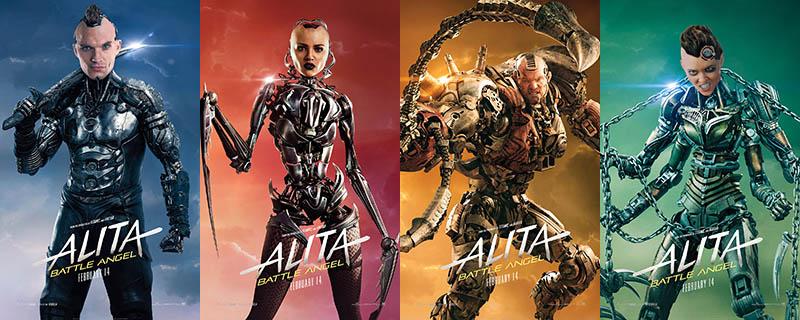 Alita : Battle Angel, cyborgs