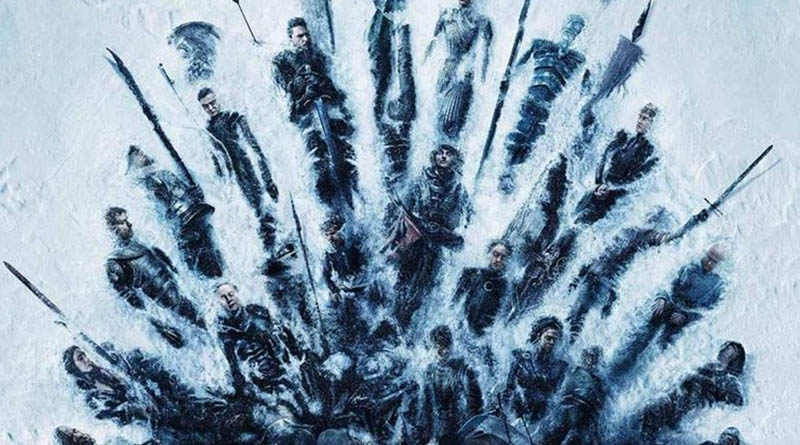 Visuel affiche Game OF Thrones - Saison 8