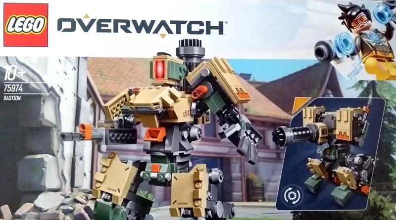 Visuel boite LEGO 75974 - Overwatch Bastion