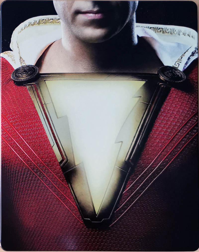 Steelbook Shazam! recto