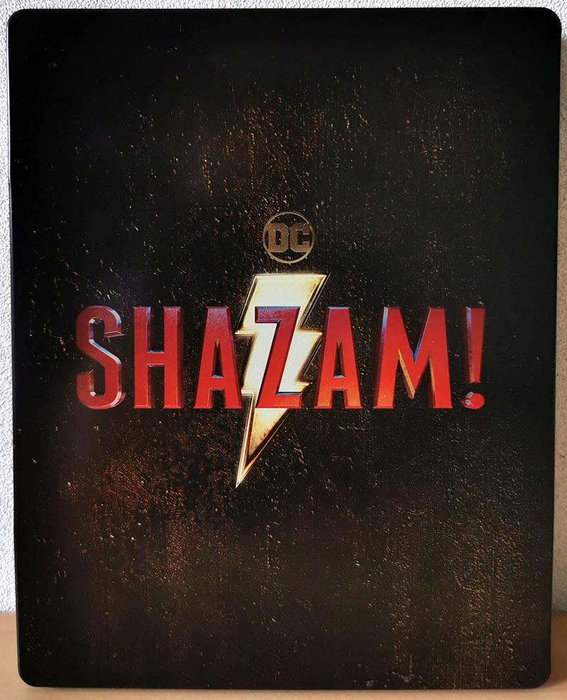 Steelbook Shazam! verso