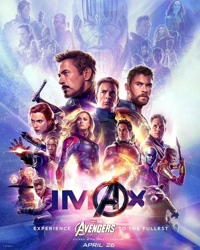 Avengers : Endgame, Affiche Imax