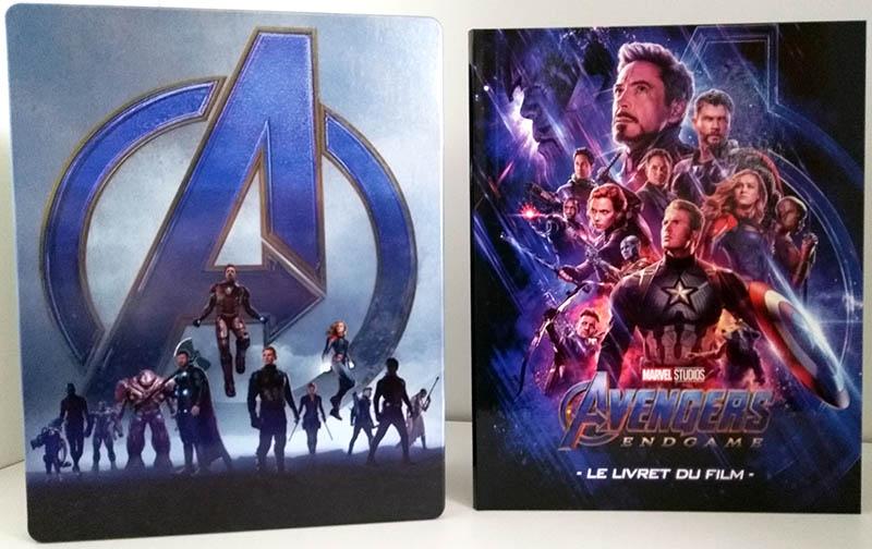 Avengers Endgame - steelbook + livret