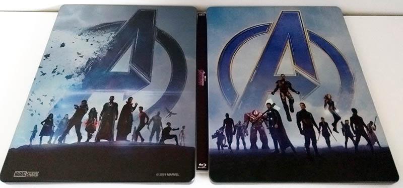 Avengers Endgame - steelbook recto verso