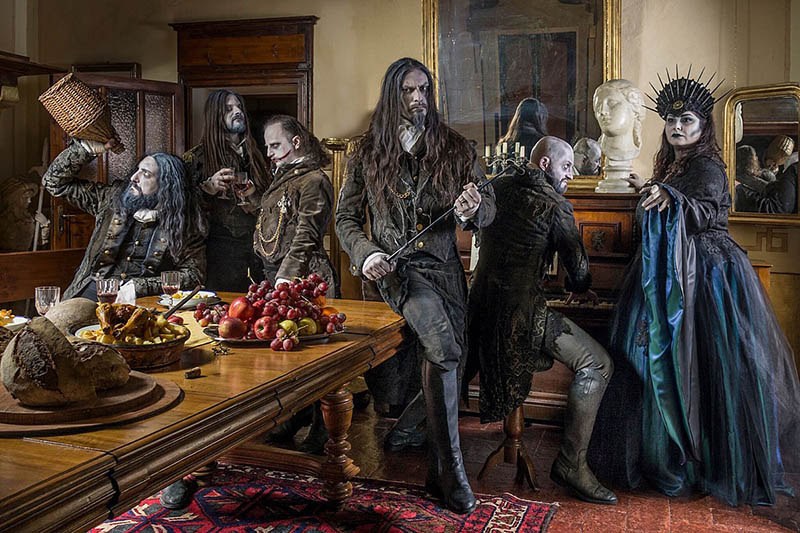 Membres du groupe Fleshgod Apocalypse