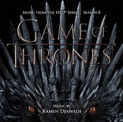 Visuel bande originale Game Of Thrones Saison 8