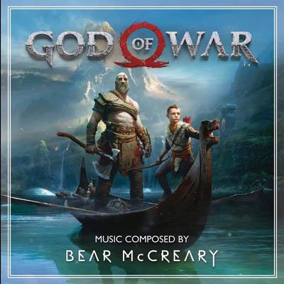 Visuel bande originale God Of War