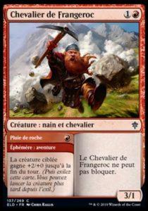 Carte Magic Trône d'Eldraine - Chevalier de Frangeroc