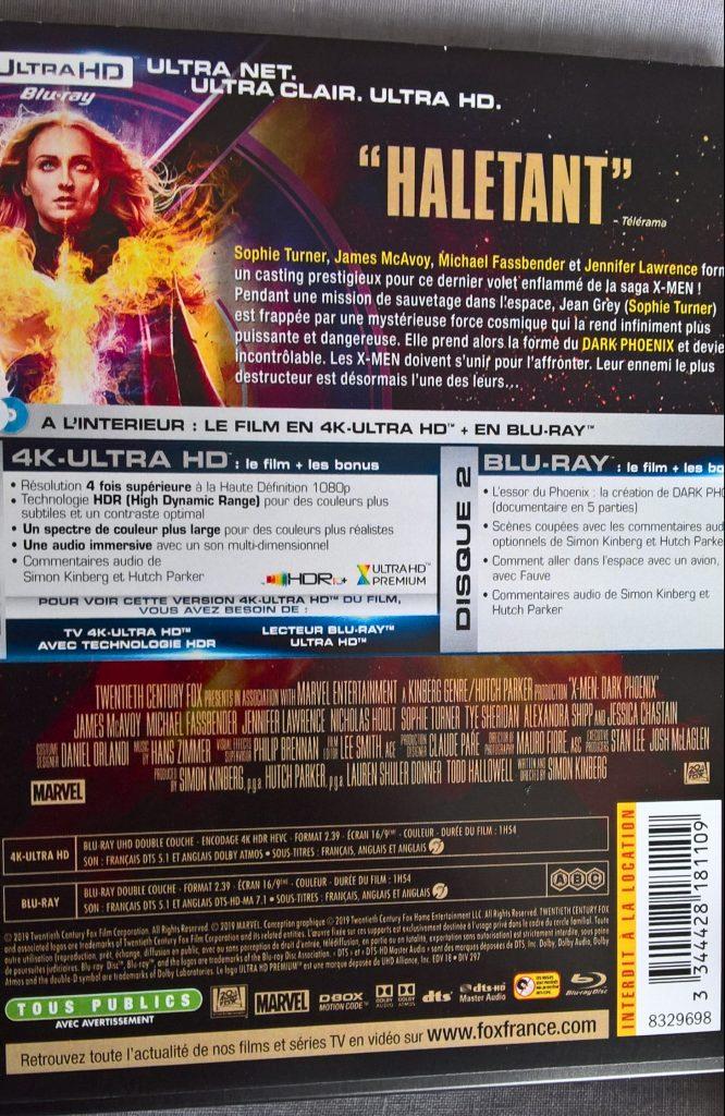 Ficher technique du film X-Men : Dark Phoenix